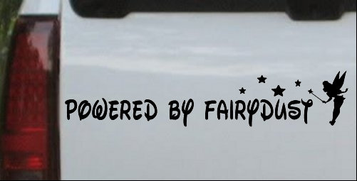 Powered By Fairydust Tinker Bell