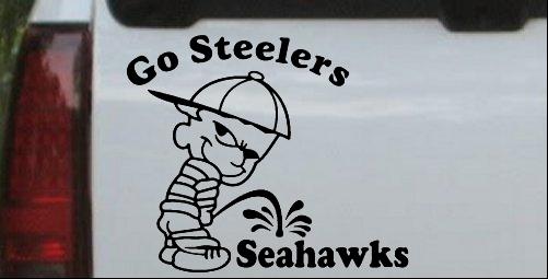Go Steelers Pee On Seahawks