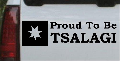 Proud To Be Tsalagi