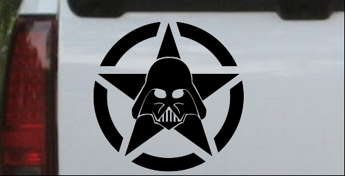 Darth Vader Star Wars Jeep Star