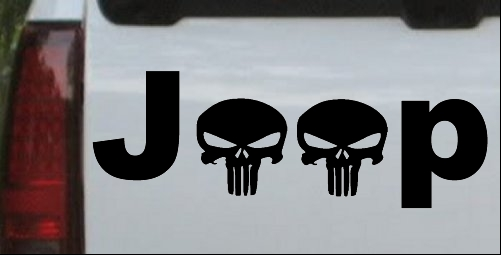 Jeep Punisher Skulls