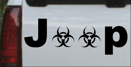 Radio Active Bio Hazard Jeep