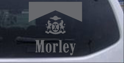 X files cigarette smoking man morley car or