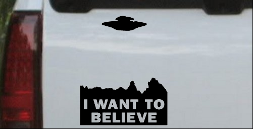 X Files I Want To Believe Space Ship Aliens