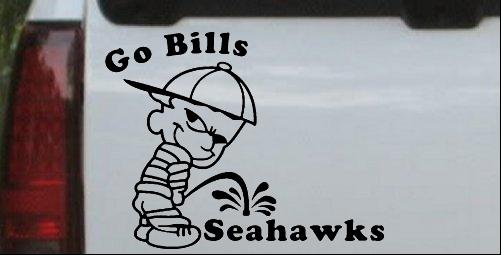 Go Bills Pee On Seahawks
