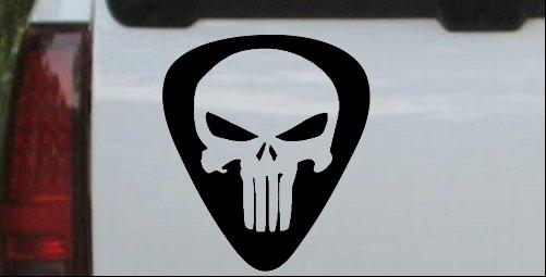 Punisher Skull Guitar Pick