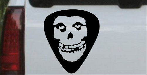 Crimson Ghost Guitar Pick