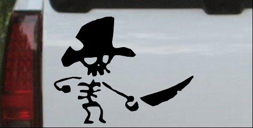Pirate Skeleton Sword Forward