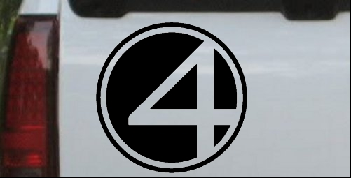 Fantastic Four Symbol Logo