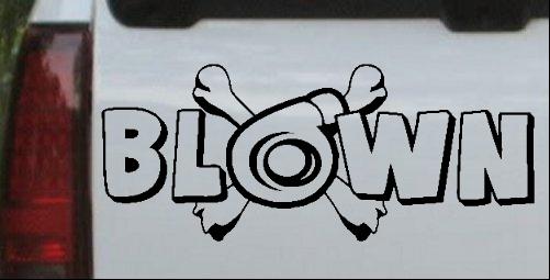 Blown Turbo Blower With Crossbones