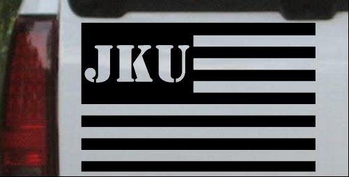 Jeep JKU American USA Flag Right