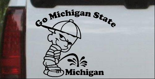 Go Michigan State Pee On Michigan