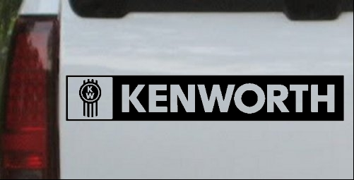 Kenworth Logo with Text