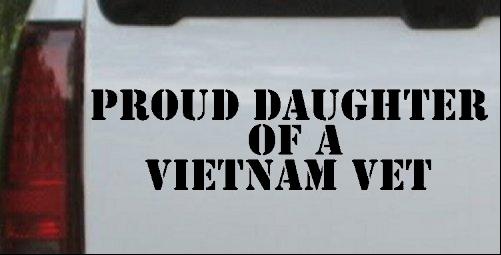 Proud Daughter of a Vietnam Vet