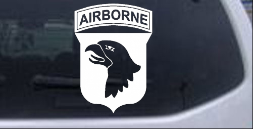 101st Airborne Division Military car-window-decals-stickers