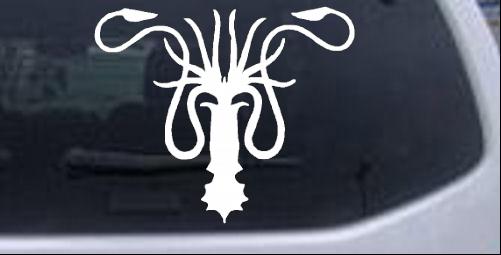 Game of Thrones House Greyjoy Sigil Sci Fi car-window-decals-stickers