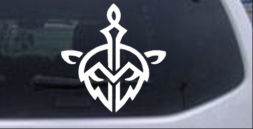 League of Legends Bandle City Crest Sci Fi car-window-decals-stickers