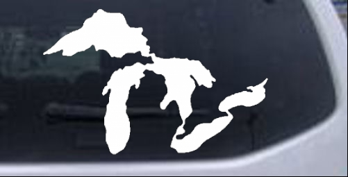 Great Lakes Girlie car-window-decals-stickers