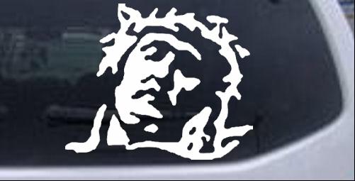 Jesus Car Window Stickers