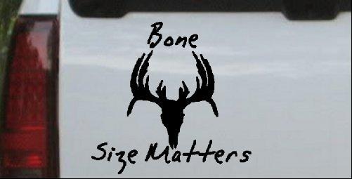 Size+matters+deer+skull+logo