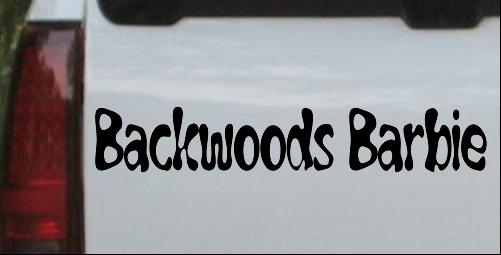 Backwoods barbie country redneck girl car or truck