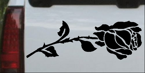 Rose (Etched Look)