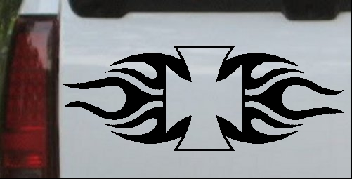 Chopper Logo with Tribal