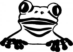 Tree Frog Animals car-window-decals-stickers