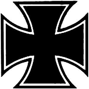 Maltese Biker Cross