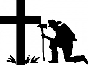 Fireman At The Cross