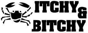 Itchy and Bitchy Funny car-window-decals-stickers