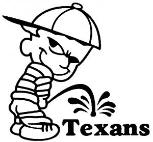 Pee on Texans