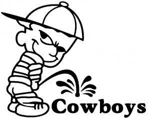 Pee On Cowboys