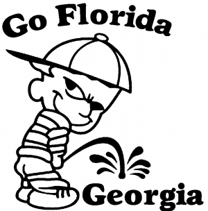 Go Florida College car-window-decals-stickers