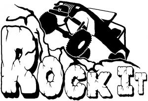 Rock It Rock Crawler Off Road car-window-decals-stickers