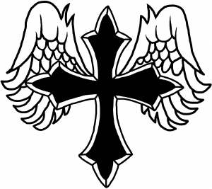 Pictures Of Crosses With Wings