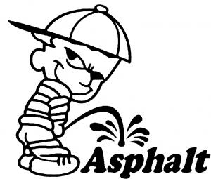 how to clean asphalt off car