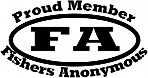 Fishers Anonymous Decal Hunting And Fishing car-window-decals-stickers
