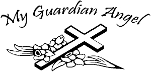 My Guardian Angel Decal