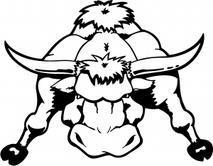 Mean Bad Bull Decal Western car-window-decals-stickers