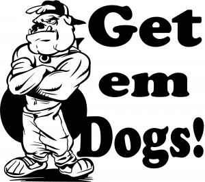 Get Em Dogs Bulldogs Decal