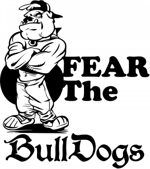 Fear The Bulldogs Decal