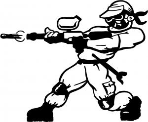 Paintball Man