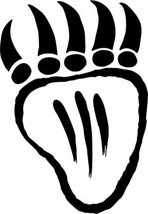 tribal indian bear claw car or truck window decal sticker rad dezigns rh raddezigns com
