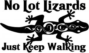 No Lot Lizards