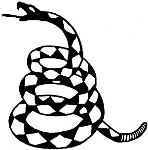Gadsden Rattle Snake Only Animals car-window-decals-stickers