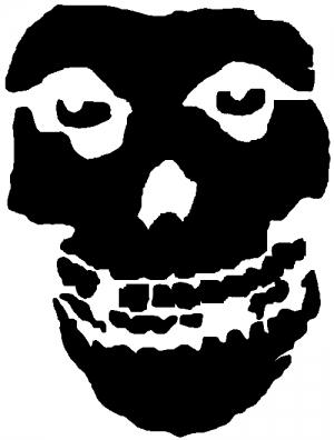Crimson Ghost Skull
