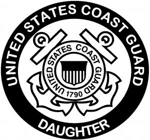 United States Coast Guard Daughter