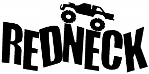 Redneck Truck Country car-window-decals-stickers