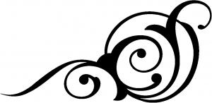 O Swirl 3 Point Swirls car-window-decals-stickers